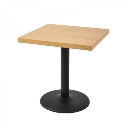 2인용 LPM600 사각 원반다리 티테이블