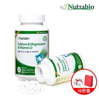 뉴트라바이오 칼슘 마그네슘 비타민D 300정