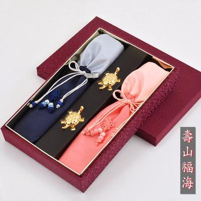 H.jin 꽃한지수산복해 방짜유기수저세트
