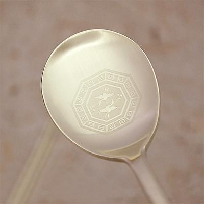H.jin 쌍학티타늄수저세트 10벌