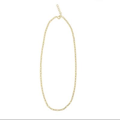 사각 체인 데일리 목걸이 _ Square chain necklace