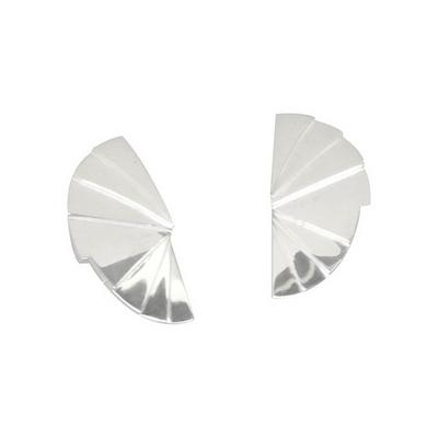 도깨비 부채 귀걸이 - 볼드 _ Korean goblin fanwise bold earring