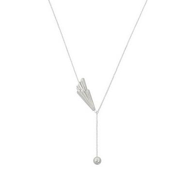 비유설백 윤슬 결 목걸이 _ Yunseul wavy layered necklace