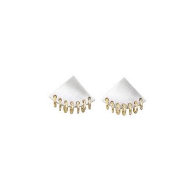 도깨비 부채 오링 귀걸이 _ Korean goblin tambourine earring