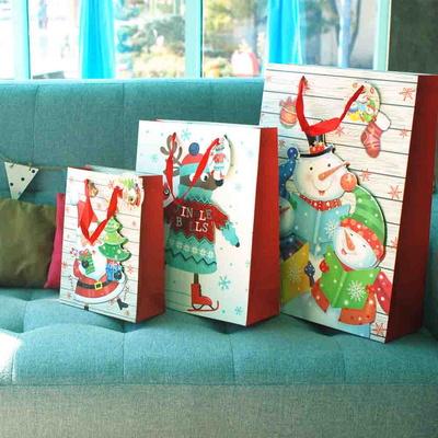 아이스타 크리스마스 선물용 쇼핑백 24종