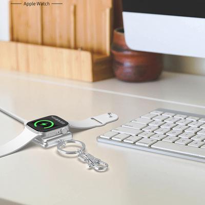 애플워치 마그네틱 휴대용 급속 무선충전패드 충전독