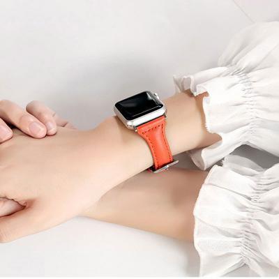애플워치4 3 2 여성 가죽 뷰티 패션 밴드 손목 시계줄