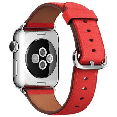 애플워치 클래식 가죽밴드 손목 시계줄 38 40 42 44mm