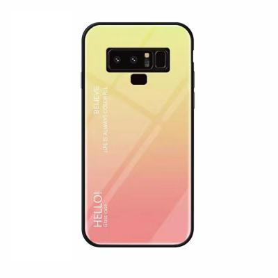 갤럭시S105G S10E S10플러스 S10 그라데이션 강화유리 유광 하드 휴대폰 케이스