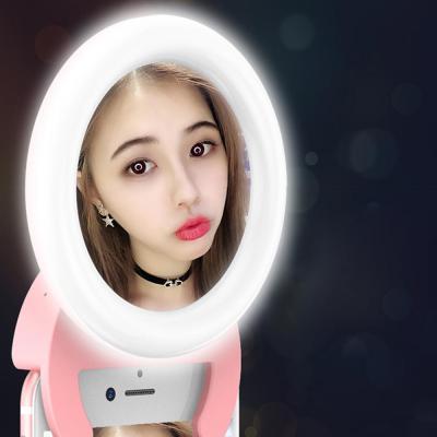 클립형 셀카 LED 조명 링라이트 인생샷 연예인조명 개인방송 비디오 촬영 발광