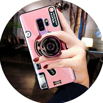 갤럭시노트10 플러스 노트9 8 S10 5G S10E 카메라 그립톡 거치대 실리콘 케이스