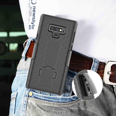 갤럭시노트10 노트10플러스 심플 풀커버 벨트 클립형 홀더 거치대 하드 휴대폰 케이스