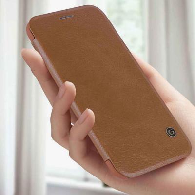 아이폰 12 11 PRO MAX 프로 맥스 G-CASE 가죽 카드 포켓 수납 플립 휴대폰 케이스