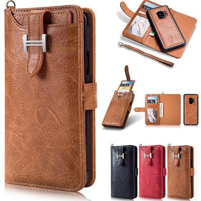 갤럭시노트10 노트10플러스 H클립 가죽 카드수납 지갑형 다이어리 손목 스트랩 휴대폰케이스