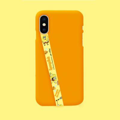 스폰지밥 정품 캐릭터 패턴 하이그립 허브루프 핑거 핸드폰 손목 스트랩 갤럭시 아이폰 악세사리