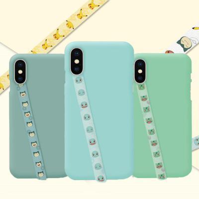 포켓몬스터 스마트폰 하이그립 허브루프 핑거 캐릭터 패턴 스트랩 갤럭시 아이폰 휴대폰악세사리