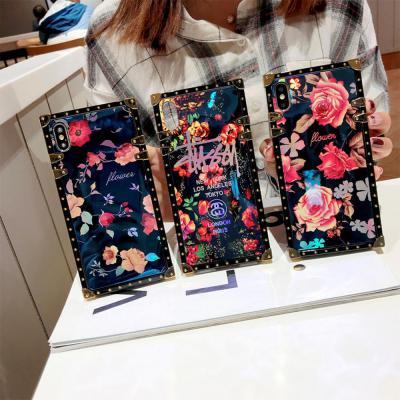 갤럭시S20 S20플러스 S20울트라 5G 홀로그램 플라워 패턴 소프트 실리콘 휴대폰케이스
