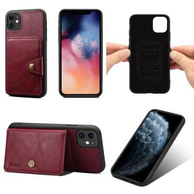 아이폰11 프로 맥스 XR XS 8 7플러스 가죽 카드 수납 지갑 범퍼 하드 휴대폰 케이스