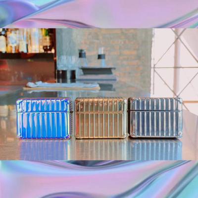 에어팟프로 3세대 컨테이너 홀로그램 캐리어 글리터 실리콘 사각 케이스 무선 이어폰 악세사리