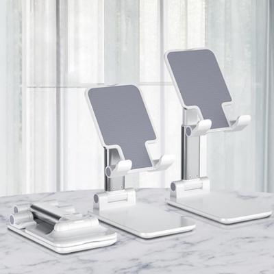 스마트폰 핸드폰 태블릿 아이패드 휴대용 접이식 높이각도자유조절 스탠드 거치대 책상 탁상용