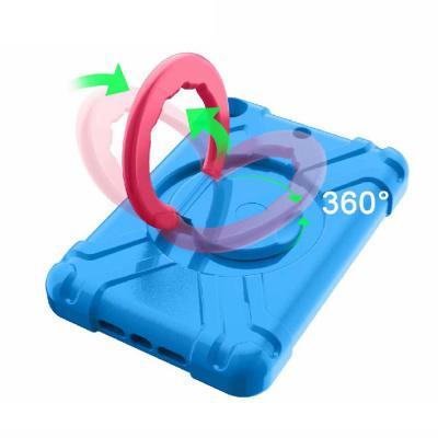 아이패드 7세대 5 6세대 10.2 9.7 에바폼 360도 핸들 범퍼 하드 태블릿 케이스