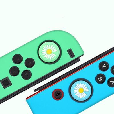 닌텐도 스위치 라이트 동물의 숲 조이콘 파스텔 실리콘 스킨 커버 플라워 나뭇잎 너구리 냥발 버튼 보호캡