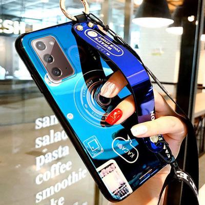 갤럭시노트20 울트라 Ultra N981 N986 레트로 카메라 스트랩 거치대 슬림 젤리 실리콘 커플 휴대폰 케이스