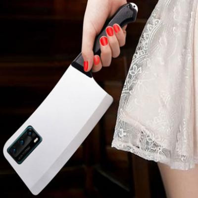 갤럭시노트20 노트20울트라 인싸템 특이한 입체 중식도 식칼 디자인 젤리 실리콘 커플 휴대폰 케이스