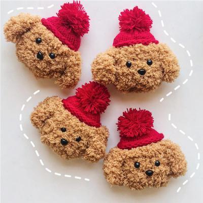 에어팟 1 2 3세대 프로 귀여운 털모자 강아지 푸들 캐릭터 인형 니트 뜨개질 케이스 악세사리 커플 추천