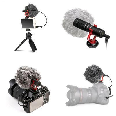 휴대용 PC 촬영 휴대폰 카메라 비디오 노트북 개인방송 유튜브 콘덴서 ASMR 녹음 BJ 마이크 3.5mm 커넥터