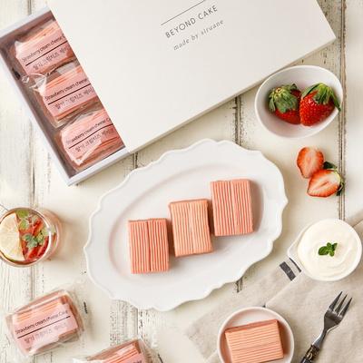 시루아네 딸기크림치즈 케이크 개별포장(9개)
