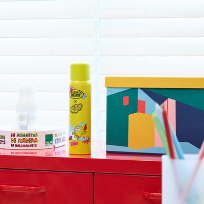 리틀히어로 가정용 차량용 디자인소화기 - 허팝