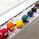 반제품 DIY kit  레인보우기차여행