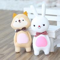 귀욤늑대+청순토끼 커플-2개set 양말인형만들기