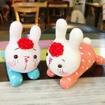 주근깨 빨강머리 토끼 래비앵 양말인형만들기