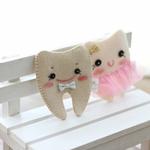 치아보관용파우치 2개 세트 펠트만들기