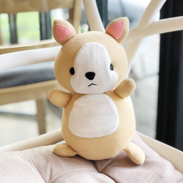 양말인형 안아줄개 만들기DIY 강아지인형
