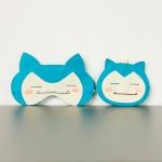 파랑깨비 수면안대와 키홀더겸용 동전지갑 만들기세트