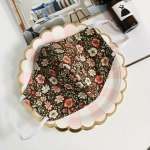 면마스크 만들기DIY 갈색꽃(실,바늘)만드는입체마스크