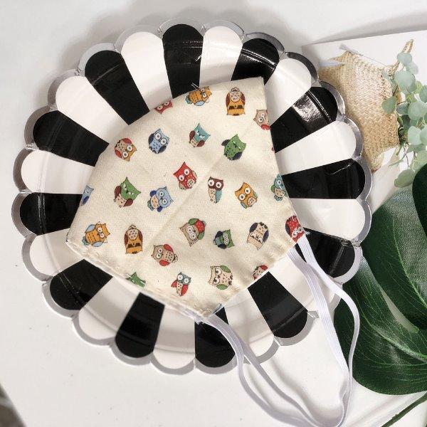 면마스크 만들기DIY 부엉이(실,바늘) 마스크 diy kit