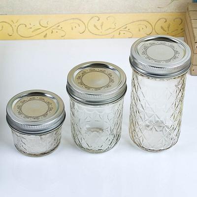Ball Mason Jar(볼 메이슨자) 크리스탈 젤리 4P