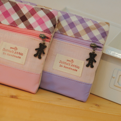 Teddybear Secret Pouch-Pink