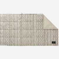 (Paquet) Plume Blanket - Knit