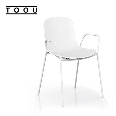 (TOOU) HOLI 홀리 암체어 - White