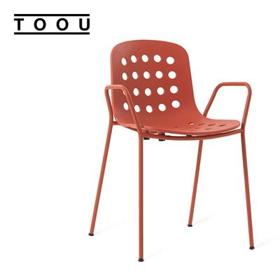 (TOOU) HOLI 홀리 암체어 - Red Terracotta
