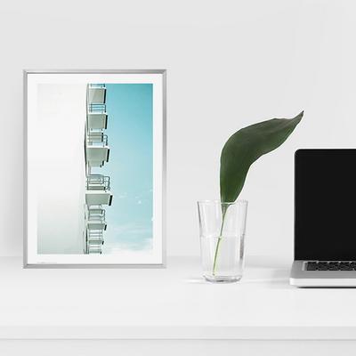 미니멀 건축 사진 액자 인테리어 포스터 vol.1_MA01(바우하우스 발코니)