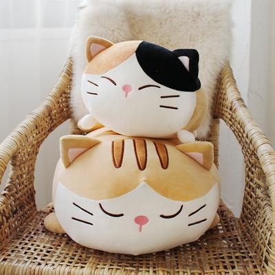 모찌모찌 까망 고양이쿠션 S