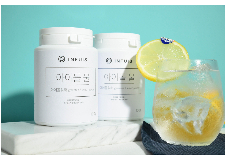 아이돌물 레시피 유기농녹차 레몬 워터 - 인퓨이스, 11,800원, 건강분말, 건강분말