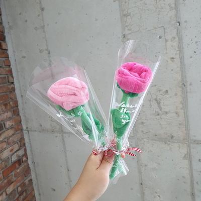 장미 인형꽃다발 1송이