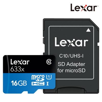렉사 공식판매원 microSD카드 633배속 UHS-Ⅰ급 16GB